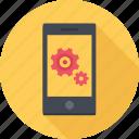 app, mobile, optimization, phone, settings, smartphone icon