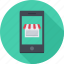 app, mobile, phone, shop, smartphone, store icon