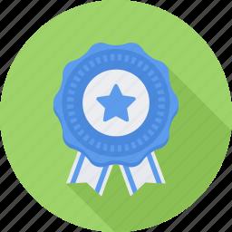 achievement, badge, prize, victory icon