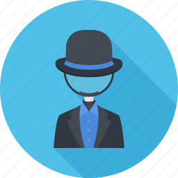 black hat seo, loupe, optimization, seo icon