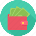 cash, money, profit, wallet icon