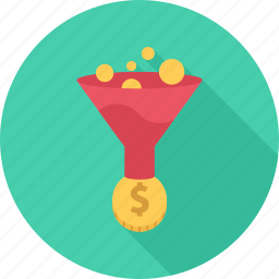 conversion, money, optimization, seo icon
