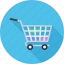 basket, cart, commerce, goods, purchases icon