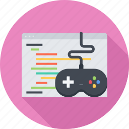 code, development, game, game development, gamepad icon