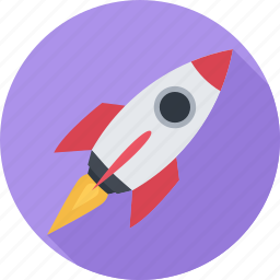 mission, promotion, rocket, space icon