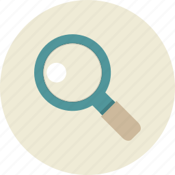 magnifying, search, seo, web site icon