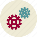 cogwheel, seo, service, support, technical, web site icon