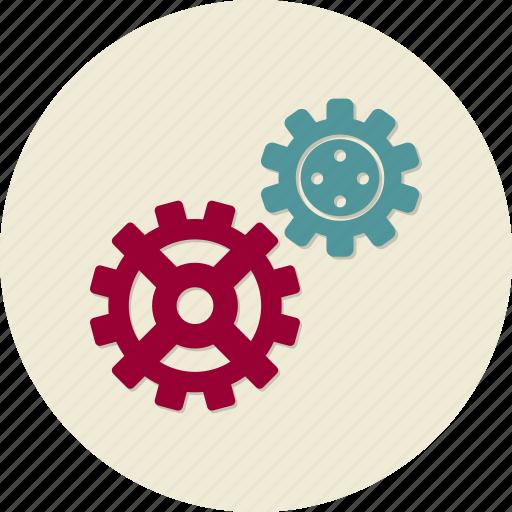 cogwheel, seo, service, support, technical, web site icon