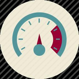 optimization, promotion, seo, site, speedometer, spide, ы icon