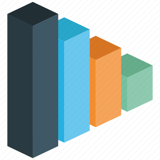 bar, chart, elements, graph, infographic, line, visualization icon