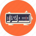 alarm, clock, digital, radio, time, timer, watch icon
