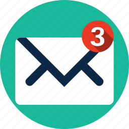 communication, email, envelope, internet, letter, mail, message icon