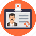 card, cardholder, customer, id, identification