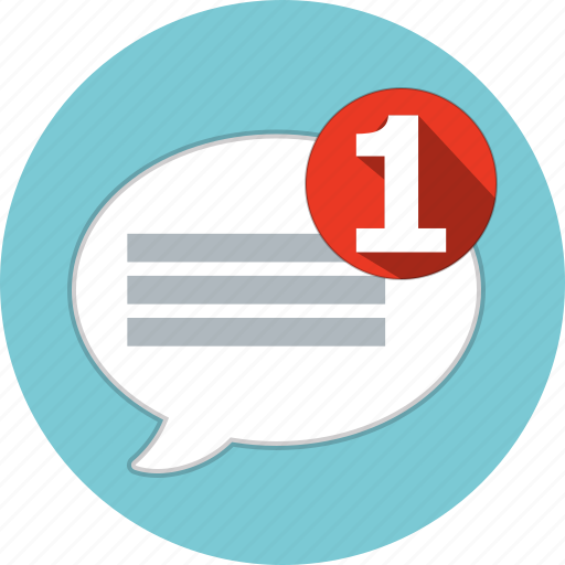 bubble, communication, message, speech, talk icon