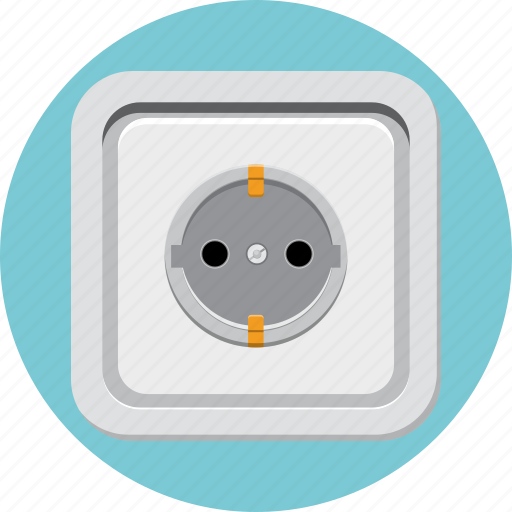 Electric, outlet, plug, power, socket icon - Download on Iconfinder