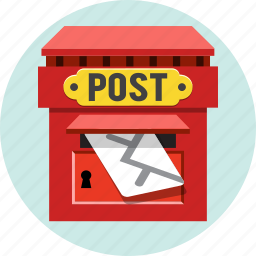 letter, mail, post, postal, service icon