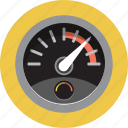 dashboard, gauge, meter, odometer, speed icon