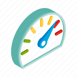 car, display, fuel, full, isometric, meter, panel icon
