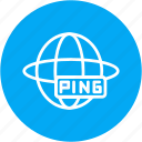 building, online, ping, repair, tool, website, work icon