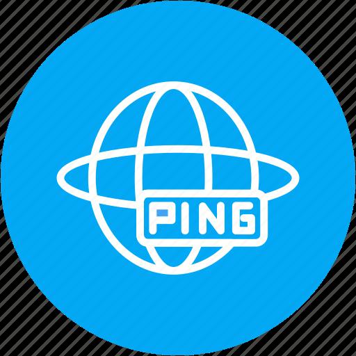 building, online, ping, repair, tool, website, work icon