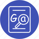 business, communication, grammar, grammar checker, internet, mark, success icon