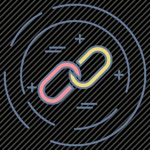 business, chain, optimization, seo icon