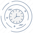 business, clock, optimization, seo icon