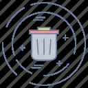 bin, business, dust, optimization, seo icon