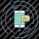 business, optimization, phone, seo, smart icon