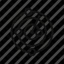 checker, direction, google, location, malware, map arrows, pointer icon