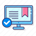 bookmark, browser, internet, web icon