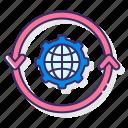 conversion, gear, globe, optimization