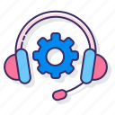headphone, information, services, support