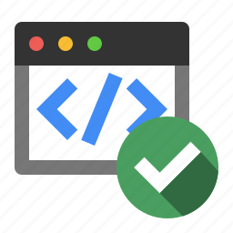 code, code verification, marketing, ok, seo, validation, verified icon