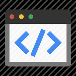 code, html, marketing, markup, seo, web icon