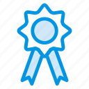 award, badge, business, champion, diploma, star, trophy icon