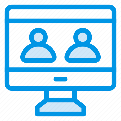 browser, chatting, communication, group, internet, team, users icon