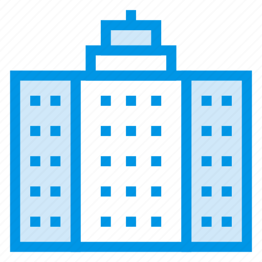 architecture, building, city, construction, home, hotel, office icon