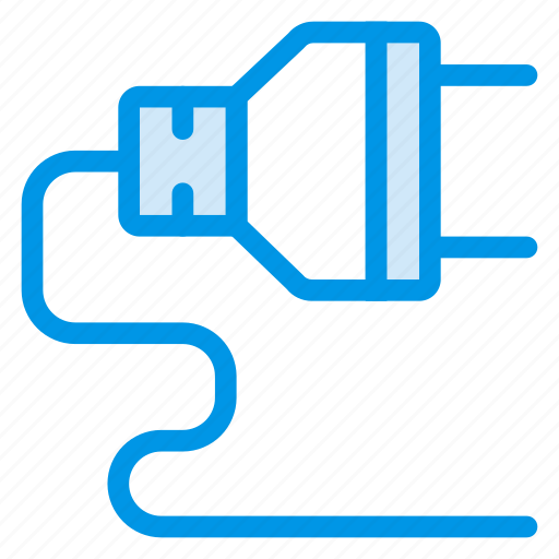 cable, electric, plug, plugin, power, socket, system icon