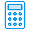 accounting, calculate, calculator, device, electronics, gadget, numbers icon