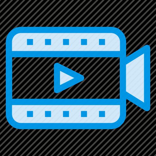 camcorder, camera, device, film, record, recorder, video icon
