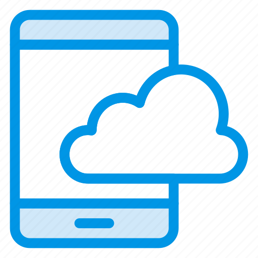 Cloud, mobile, phone, smart, storage, telephone icon - Download on Iconfinder