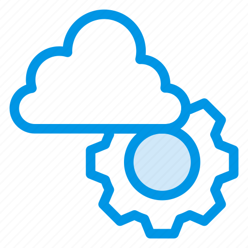 Cloud, data, database, gears, options, preferences, setting icon - Download on Iconfinder
