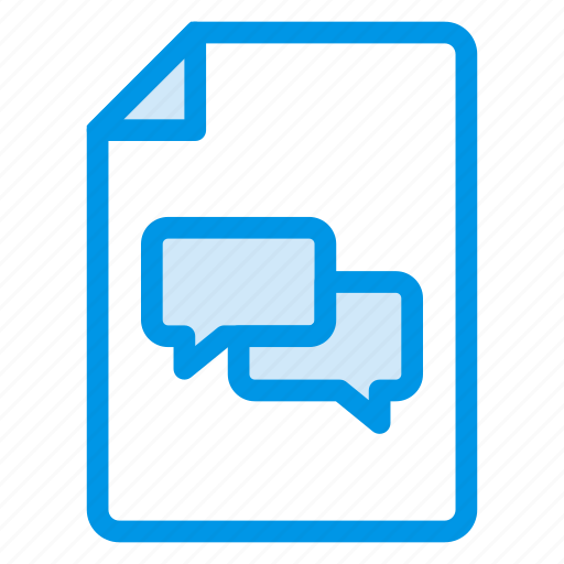 Bubble, chat, communication, conversation, message, people, talk icon - Download on Iconfinder