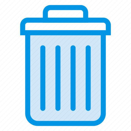 Trashbin, business, deleted, remove, recycle, trash, delete icon