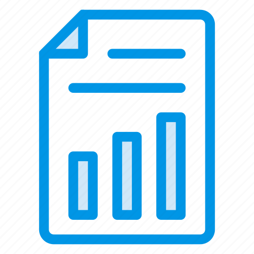 analytics, business, diagram, growth, page, report, statistics icon