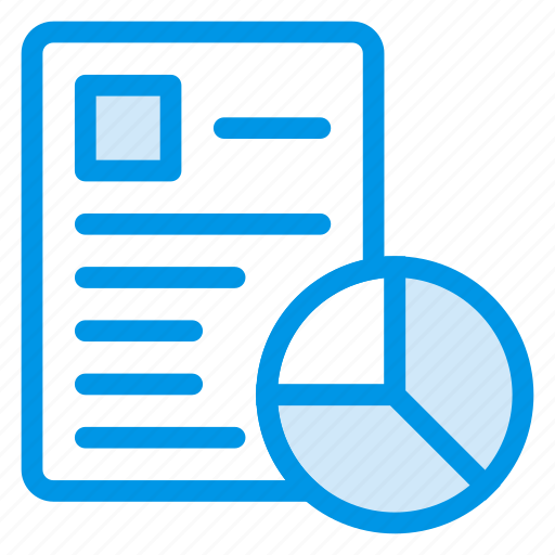 analytics, business, diagram, page, personal, report, statistics icon
