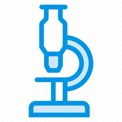 bacteria, education, laboratory, microscop, research, school, seraching icon