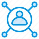 communication, confference, contacts, group, team, teamwork, user icon