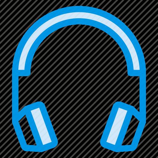 earphones, handsfree, headphone, music, recording, stereo, voice icon